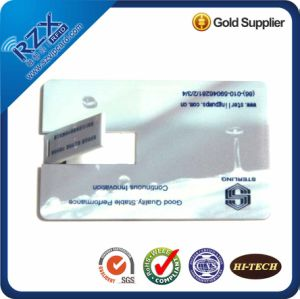 Wholesale High Quality Credit Card USB Flash Drive Card 1-16GB for Promotional Gifts