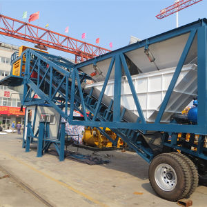 CE ISO Certified Yhzs50 (50m3/h) Mobile Premixed Concrete Mixing Plant pictures & photos