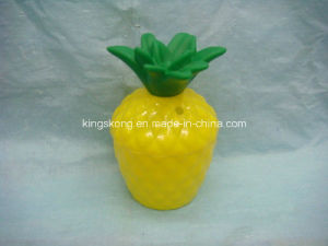 350ml PE Plastic Pineapple Shape Straw Cup pictures & photos