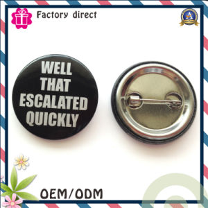 Pin Bottem Round Badge Cheap Price for Sale pictures & photos