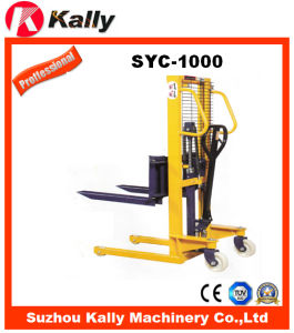 Material Handling Equipments of Manual Stacker (SYC-1000)