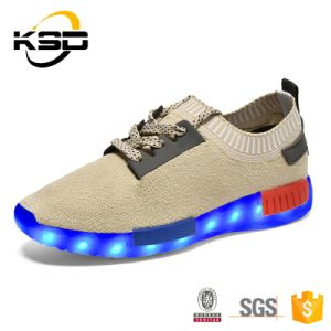 Battery Operated LED Light and LED Shoe with 7 Colors pictures & photos