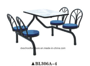 Special Design Fiberglass Canteen Table and Chair pictures & photos