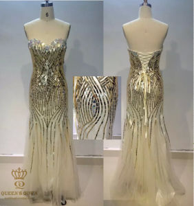 Heavy Beaded Elie Saab Design Evening Dresses. Luxury Dresses