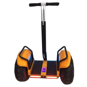 CE Approved New Outdoor Sport Game Vehicle Electric Two Wheel Self Balancing Golf Car pictures & photos