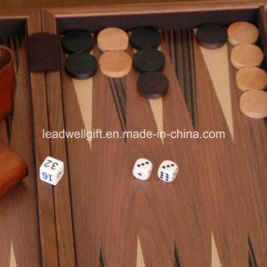 Luxury Wood Backgammon Set pictures & photos