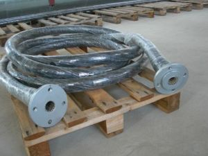SDH-021 Ceramic Rubber Hose for Steel Plants, Cement Plants and Power Plants pictures & photos