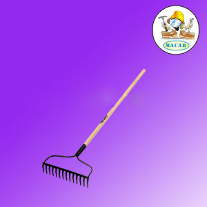 Stainless Steel Lawn Rake and Landscape Rake