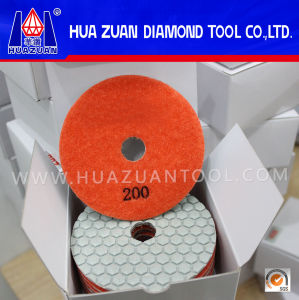 New Arrival Hexagon Diamond Dry Polishing Pads pictures & photos