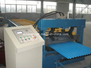 Corrugated Machine Price Metal Roofing Roll Forming Machinery pictures & photos