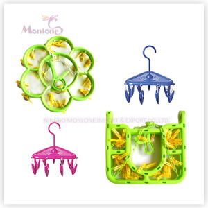 Plastic Clothes Hanger, Round Clothes Hanger, Rectangular Clothes Hanger pictures & photos