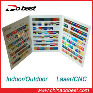 Laser/CNC Engraving ABS Double Color Sheet pictures & photos