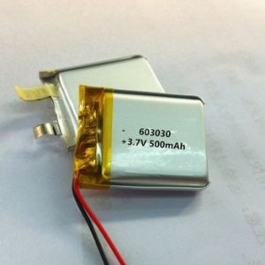 603030 3.7V 500mAh Li-Polymer Battery Lithium-Ion Battery