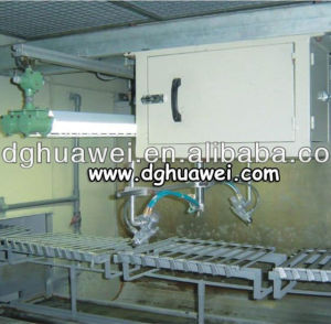Automatic Spray Machine for Plastic Parts