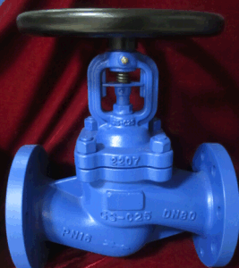 DIN Bellows Seal Globe Valve for Gear (J541H) pictures & photos