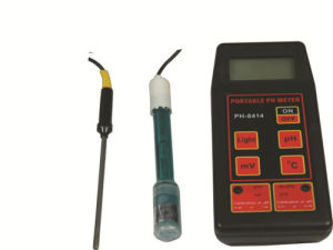 Portable pH Meter pH-8414 Wincom pictures & photos