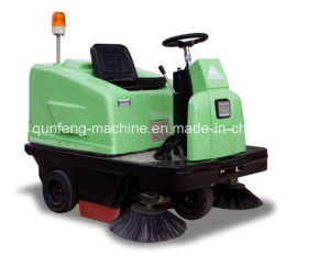 Mqf130 Electrical Road Sweeper, Garbage Sweeper pictures & photos