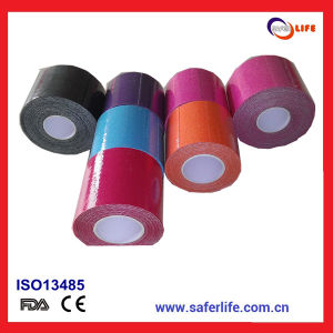 Synthetic Elastic Physio Therapy Muscle Kinesiology Tape pictures & photos