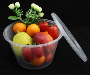 Disposable PP Round Food Containers 1000ml pictures & photos