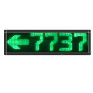 P7.62 Single Green Color 8 Digits LED Message Screen pictures & photos