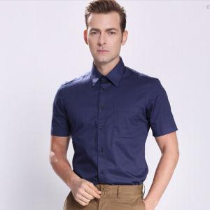 60% Polyester 40% Cotton Men′s Dress Uniform Work Shirt pictures & photos