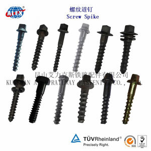 High Tensile Tirefond for Railway with Zinc Plated pictures & photos