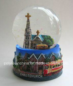 Christ Church New Zealand Water Dome Snow Globe Snowglobe pictures & photos