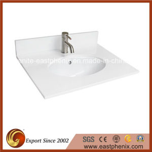 Polished Surface Nano Crystallized Glass Vanity Tops pictures & photos