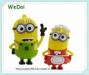 Cartoon Minions USB Stick for Christmas Gift (WY-PV51) pictures & photos