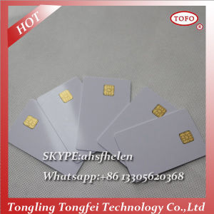 Free Sample Inkjet Printing Magnetic Stripe Card with 5528 Chip pictures & photos
