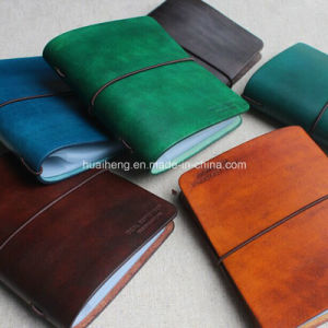 Vintage Genuine Leather Handmade 40 Stands Credit Card Holder pictures & photos