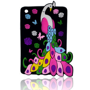 Peacock Silicon Cartoon Mobile Phone Cover for iPhone 6s/6plus Case (XSDW-018) pictures & photos