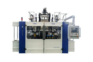 Blow Molding Machine B10d-560 (2 Stations 3 Cavities) pictures & photos