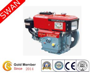 Water Cooled 12HP Single Cylinder Diesel Engine (JC195-1)