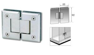Metal 304 Glass Hinge for Double Swing Door Cc149 pictures & photos