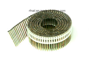 15 Degree Plastic Sheet Coil Nails pictures & photos