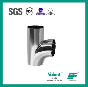 Sanitary Stainless Stee Welded R-Type Tee pictures & photos