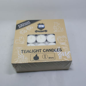 Aroma Long Lasting 8 Hour Cheap White Tea Light Candles pictures & photos