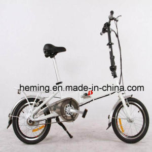 "16"" Tire 250W Folding Electric Bike pictures & photos"