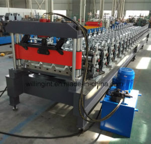 2016 Light Guage Invert Box Wall Roof Roll Forming Machine pictures & photos