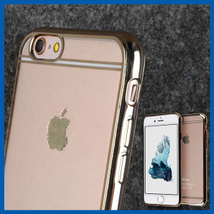 Clear Electroplate Plating TPU Bumper Case for iPhone 6s pictures & photos