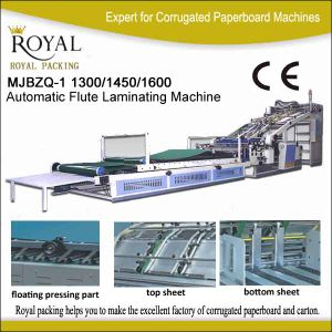 Automatic Flute Laminating Machine for Carton pictures & photos