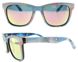 2016 Polarized Italy Design Sun Glasses Jean Acetate Sunglasses pictures & photos