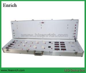 LED Demo Test Case with E27/B22/GU10/MR16/G24/Gu24 Sockets pictures & photos