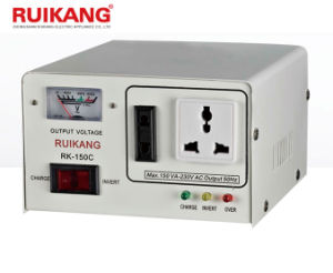 Inverter DC to AC 150va Single Phase for Home Appliance with Charger pictures & photos