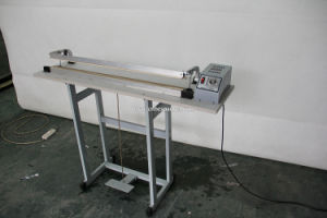 Simple Type Foot Pedal Plastic Sealing Machine with Cutting pictures & photos