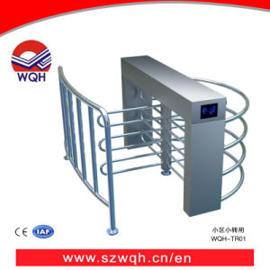 Cbd Building Waist High Turnstile with Visitor Management System