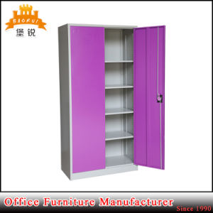 Two Doors Hospital School Furniture Cupboard Metal Office Filing Cabinet pictures & photos