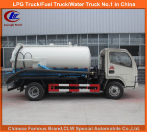 3000liter Sewage Suction Truck for Sewer Cleaning Equipemnt pictures & photos