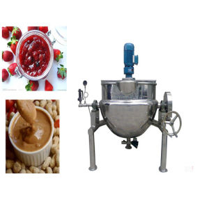 Trustworthy Product Vertical Jacketed Cooking Pot with Mixer pictures & photos
